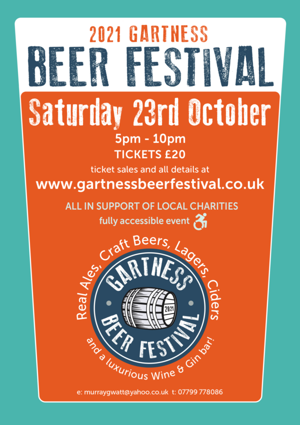 2021 Gartness Beer Festival