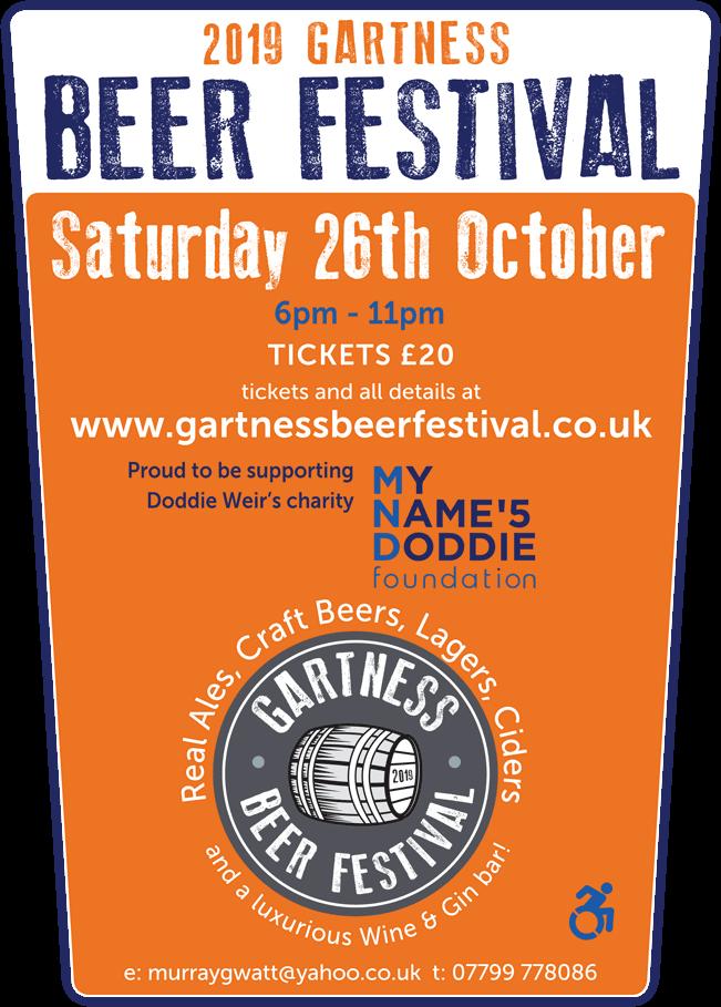 Gartness Beer Festival 2019